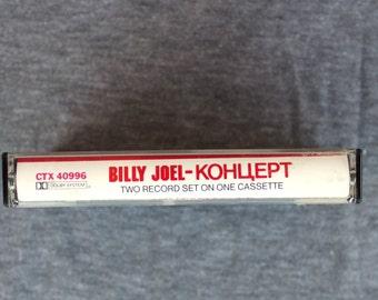 Billy Joel - Kohuept - Kontsert - Live Album on Cassette Tape 1987