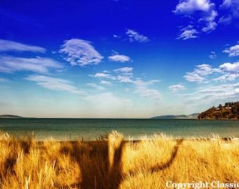 Beach Photo, Beach Photography, Landscape Photography, Ocean Photography, Fine Art Photography, Beach Decor, Coastal Art, Sky Photography