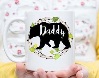 Papa Bear Mama Bear Mugs, Papa Bear Mug, Mama Bear Cup, Mama Bear Coffee Cup, New Dad Mug, New Mom Mug, New Parents Mugs, New Parents