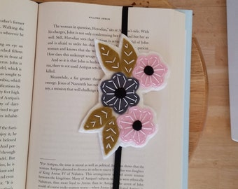 Unique Bookmarks, Stocking Stuffer, Embroidered bookmark, Teacher gifts, Student Gift, Books, Readers gifts, Bookmarks, Unique bookmark