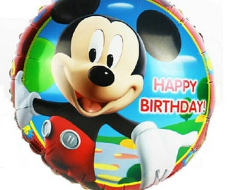 "18"" foil Mickey Mouse Balloon   T72"