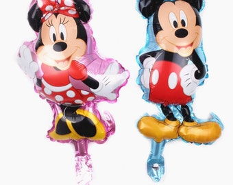 Large foil Mickey or Minnie Mouse balloon  AB34