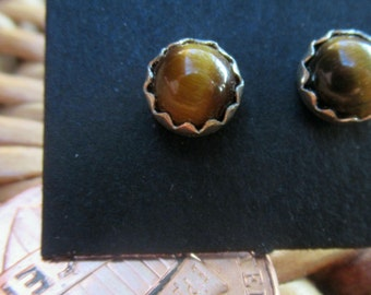 5mm Tiger Eye Stud