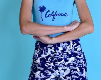 1970's Vintage Altamont Print Shorts