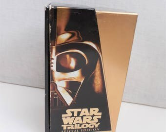 Star Wars Trilogy - 3 Movie Special Edition Gold Box Set