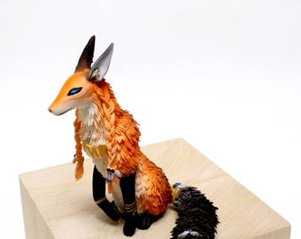 Fox Figurine Totem Fox