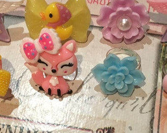 SALE* Kawaii Rings