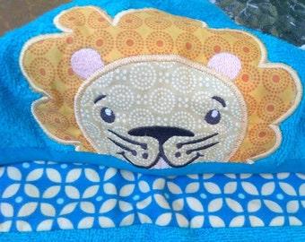 kids towel embroidery