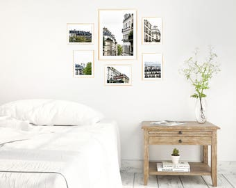 Paris Gallery Wall Set 01 - Six Print Set - Save 20% off Individual Price - Montmartre Gallery Collection