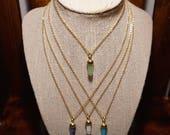 Mini Gemstone Necklace