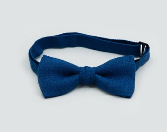 Baby Bow Tie, Blue Bow Tie, Adult Bow Tie, Boys Bow Tie, Toddler Bow Tie