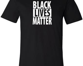 Black Lives Matter Shirt Men's T-Shirt Short Sleeve Shirt Graphic Tee