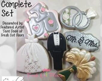 June Featured Artist Wedding Cookie Cutter Set