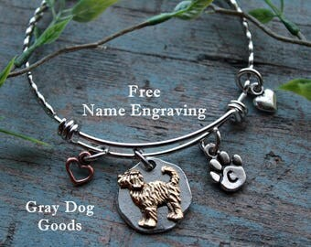 Goldendoodle Bracelet, Goldendoodle Jewelry, Labradoodle, Doodle Gift, Gift for Dog lover, Read Full Listing Details Before Ordering