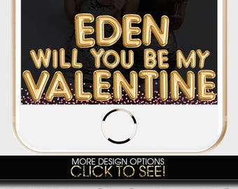 Valentines Day, VALENTINE'S DAY SNAPCHAT Filter, Couple Valentine Snapchat, Valentine's Day card, Snapchat Filter, Custom Snapchat Geofilter