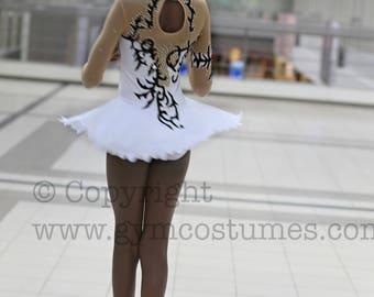 Figure skating dress, roller skating dress, show dance, Acrobatic Rock'n'Roll, Twirling,