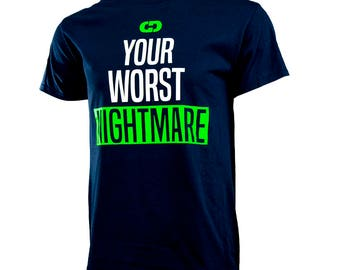 Your Worst Nightmare Short Sleeve T-shirt, Sports T-Shirt, Softball Shirt, Basketball Shirt, Volleyball Shirt, Free Shipping!
