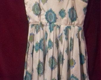 1950s Fantastic Vintage ladies dress / label - R & K ORIGINALS