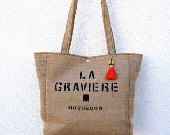 """Gravel"" Tote"