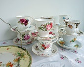 Vintage High Tea Party Se...