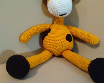 Crochet Critter Wilbur the Giraffe.  Baby shower Perfect! Giraffe stuffed animal / Plushie / Amigurumi