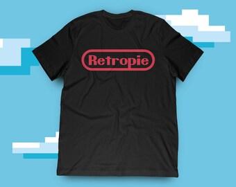 Retropie Retro Gaming T-Shirt
