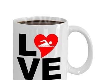Love Swimming Gift Mug