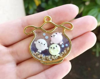 Seal-Mamegoma UV Resin Charm