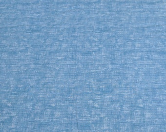 Bella Casa Textured Chambray-Blue Cotton Fabric from Fabri-Quilt