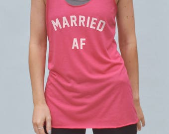 Married AF Shirt - wedding announcement, wife tshirt, married tshirt, marriage shirt, wedding tshirt, wife shirt, wedding shirt