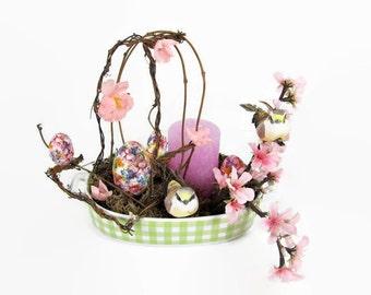Oster Dekoration Blütenzauber