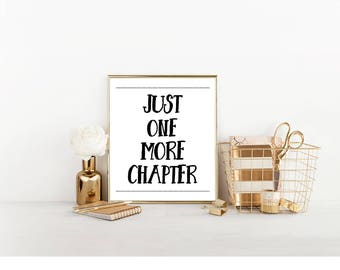Book Lover Digital Download, Bedroom Decor, Cute Reading Wall Art, Read A Book Instant Download, Bedroom, Wall Art