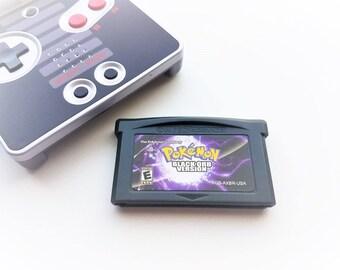 Pokemon Black Orb Version Game Boy Advance GBA Fan Translation (Custom Hack) USA Seller