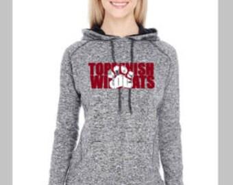 Toppenish Wildcat Ladies Sweatshirt