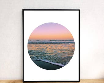 Sunset print, printable wall art, prints, photography prints, wall art printable, digital download, printable art, wall art