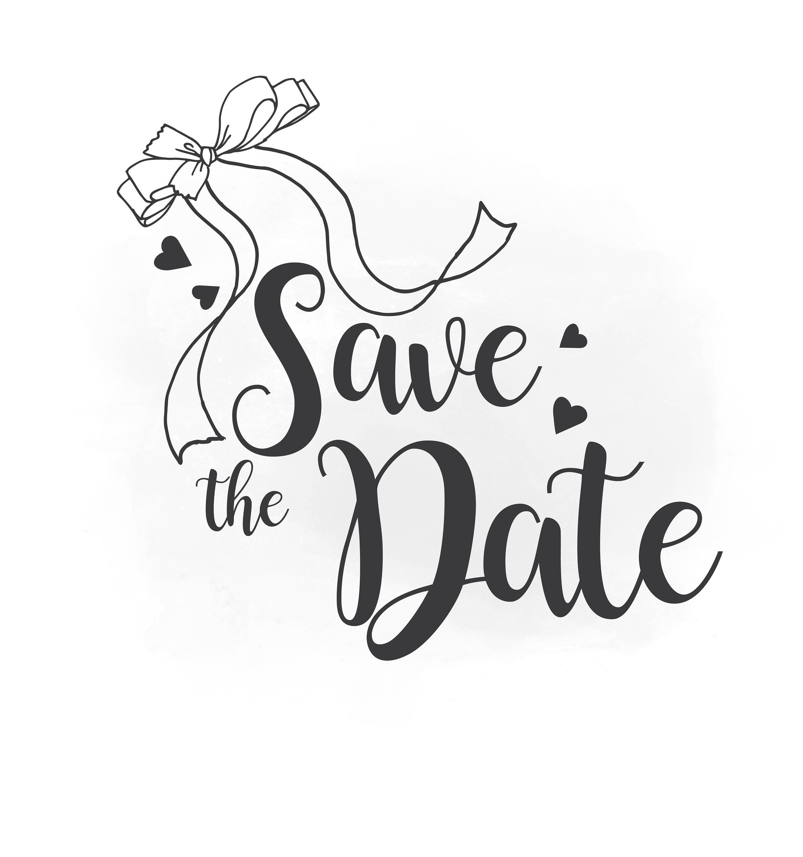 save the date svg clipart  wedding annuncment  save the save the date clip art template save the date clipart gold