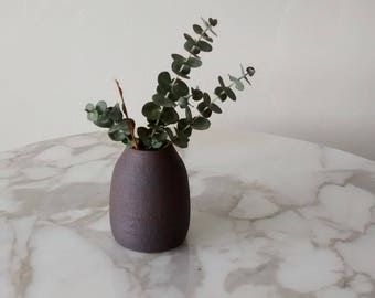 Pottery Bud Vase, Ceramic Bud Vase, Bud Vase, Cute Handmade Ceramic Vase, Rustic Pottery Vase, Stoneware Bud Vase
