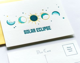Solar Eclipse Post Cards