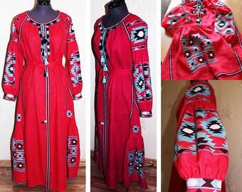 Vyshyvanka embroidered Ukraine linen