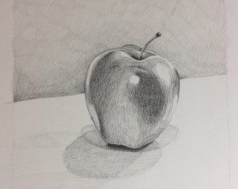 Apple: Pencil Drawing