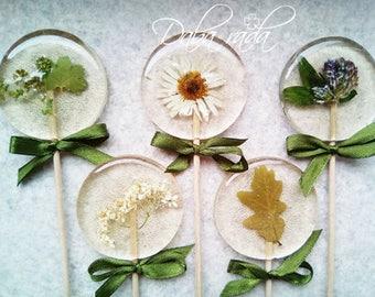 Meadow flower Lollipop 5 set