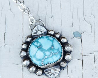 Whitewater Turquoise pendant