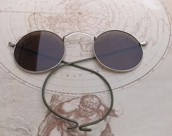 Vintage Willson round sunglasses Steampunk