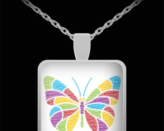 Butterfly Necklace Symbolizes Freedom, Growth, Independence and Change! Perfect Gift for a Graduate or Anyone You Love!