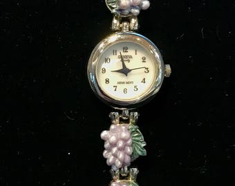 Ladies Geneva Japan Movement Wrist Watch VTP-7
