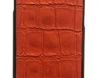 Handmade Alligator iPhone 6 case - Orange