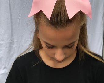 Baby Pink Cheer Bow