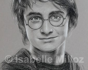 Harry Potter original Portrait of Daniel Radcliffe