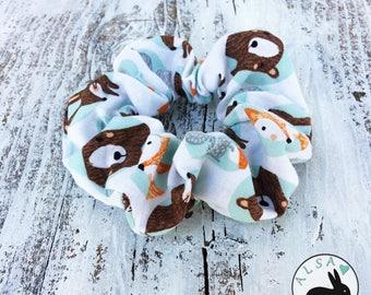 Woodland Fur Babies - ALSA - Scrunchie - Scrunchies - Hair elastic band - Hair Tie - Chouchou à cheveux - Ponytail accesories