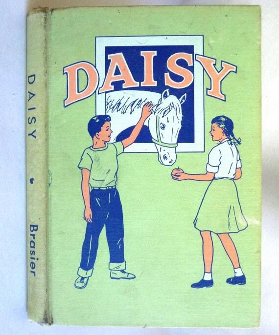 Daisy 1951 by Inez Brasier  Illustrated by Newell Niswonger - Hardcover HC - Children YA Juvenile Horse Story Rare